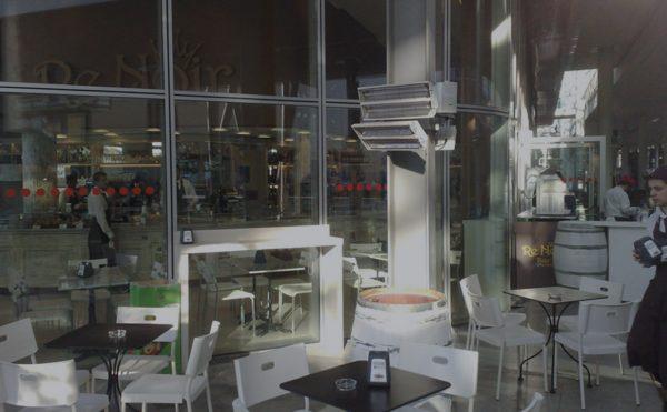 lampade riscaldanti per esterno bar e ristoranti