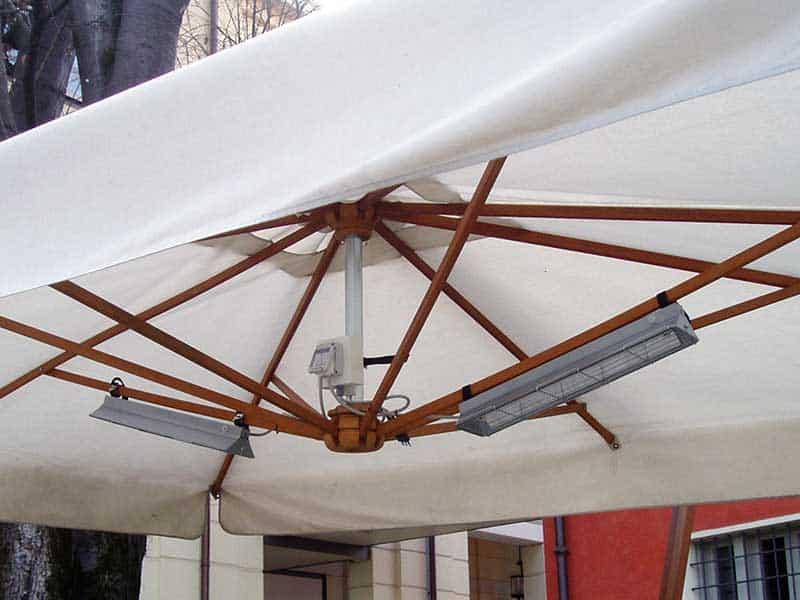 Progettazione installazione e manutenzione lampade a infrarossi