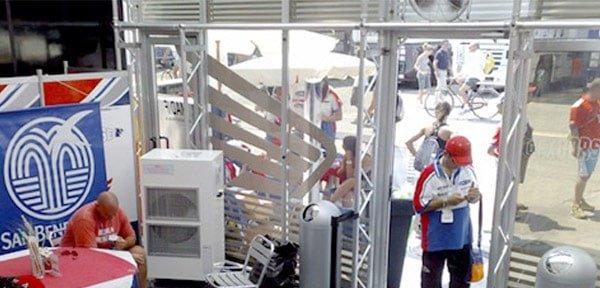 raffrescatore per esterno Synerprogetti Mantova