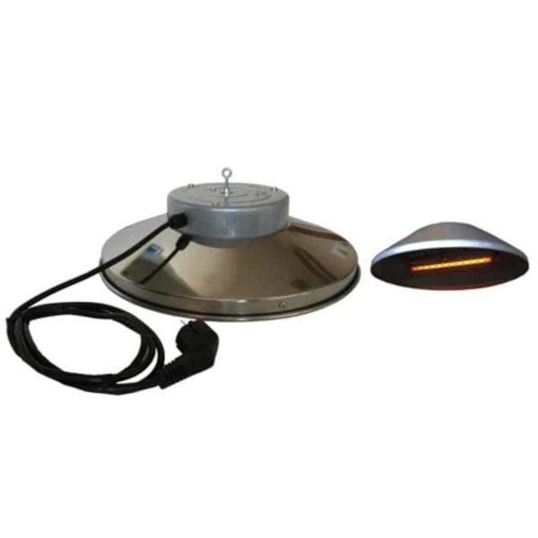 riscaldatore a raggi infrarossi per pulcini Syner progetti