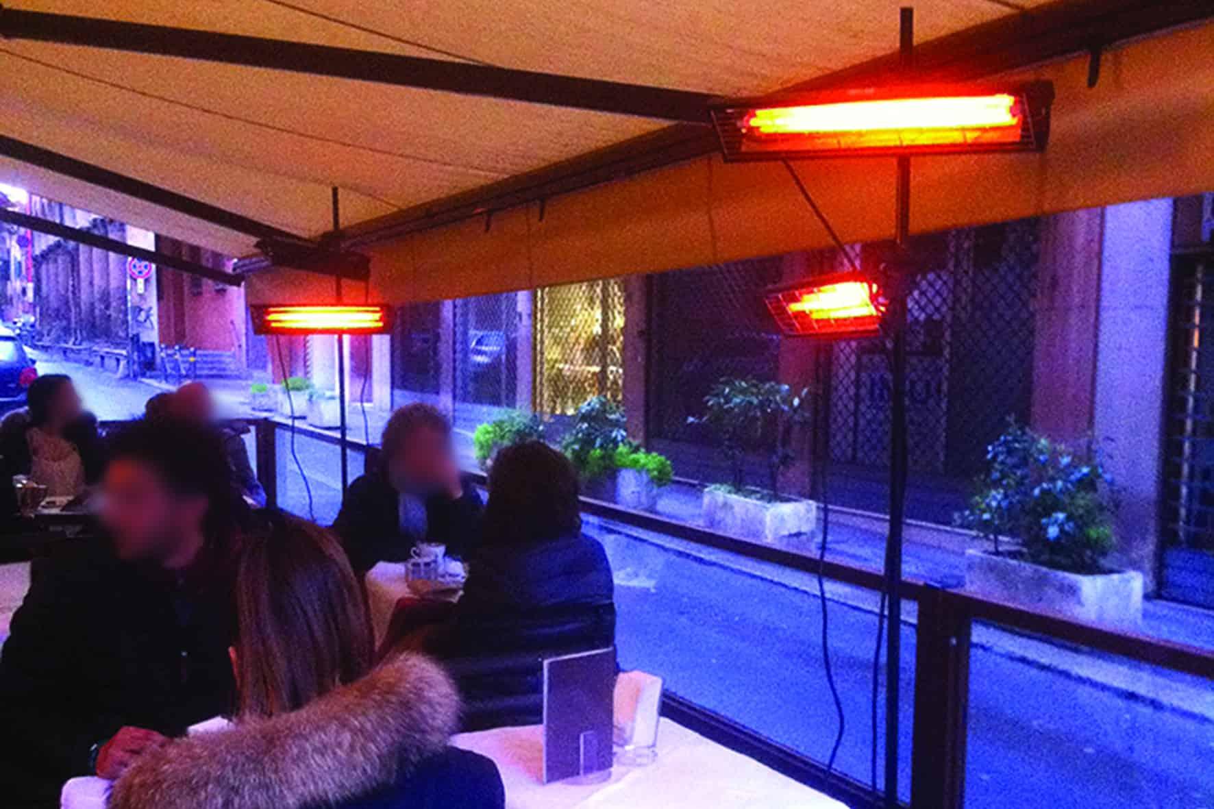 Lampade e riscaldatori infrarossi da esterno synerprogetti